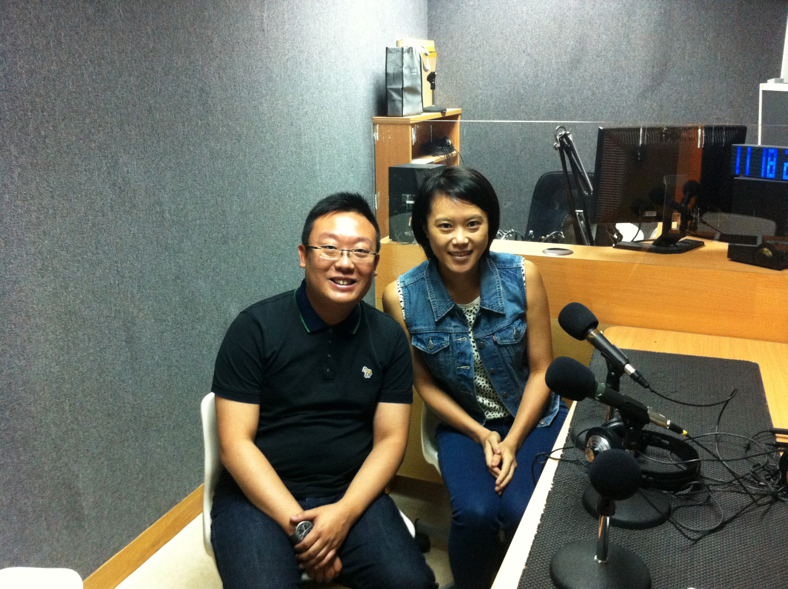 Commercial Radio Hong Kong Interview